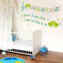 Stickers Chanson Grenouille