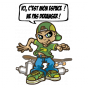 Stickers Bboy aera