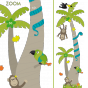Stickers Animaux Jungle Toise