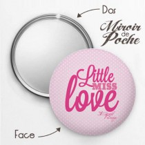 Miroir de Poche Miss Love