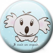 Badge koala coquin