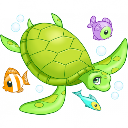 Stickers Tortue De Mer Stickers Malin
