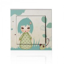 Stickers interrupteur Kiwi Doll - Floral Dream