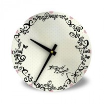 Horloge White Girly