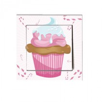 Stickers interrupteur Cupcake