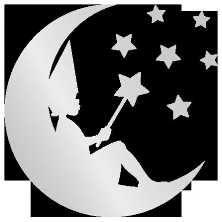 adh sif miroir f e sur la lune stickers malin