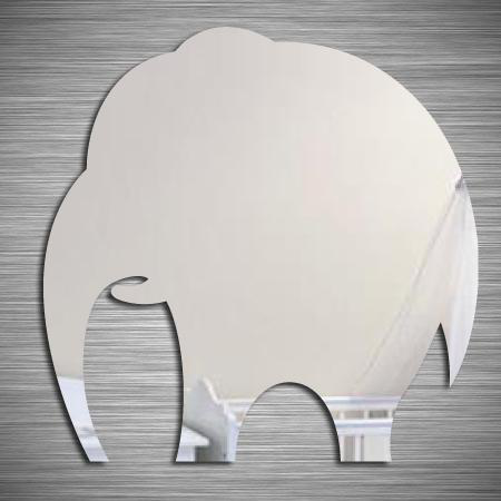 Adh sif miroir elephant stickers malin for Sticker miroir adhesif