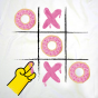 Tee shirt col V femme Donuts