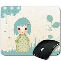 Tapis de souris - Kiwi Doll - Floral Dream