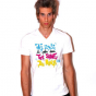 Tee shirt col V homme Ego tee