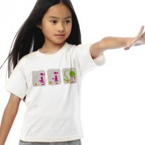 Tee shirt enfant Love green
