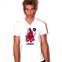Tee shirt col V homme I love sushi!