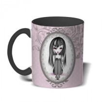 Mug color émo Romantik Gothik