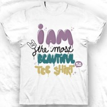 Tee shirt col rond homme I am