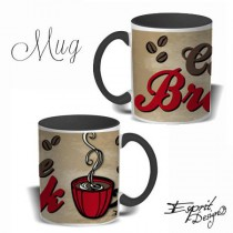 Mug Color Coffee Breack