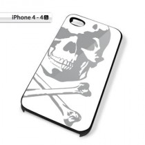 Coque iPhone 4 Pirate blanche