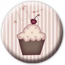Badge Cup Cake