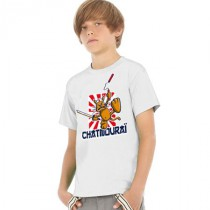 Tee-shirt enfant chat mourai