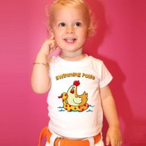 Tee-shirt swimming poule