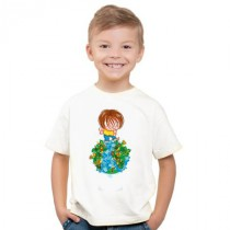 Tee-shirt enfant earth