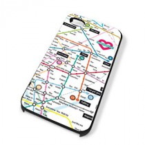 Coque iPhone 4 Love map