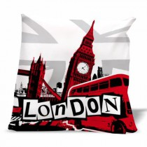 Coussin London graphic