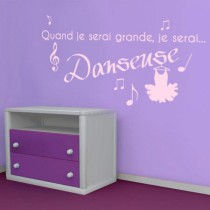 Stickers JE SERAI Danseuse