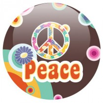 Badge OLDPOP Peace