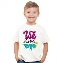 Tee shirt enfant We love