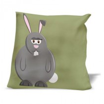 Coussin FERME Lapin2