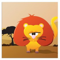 Poster JUNGLE Lion