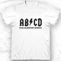 Tee-shirt col rond ABCD