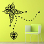 Stickers Papillon Baroque