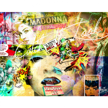 Stickers Madonna catch the look