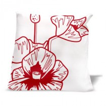 Coussin COQUELICOTS 2