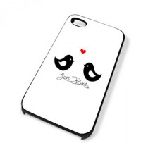 Coque iPhone 4 Love birds