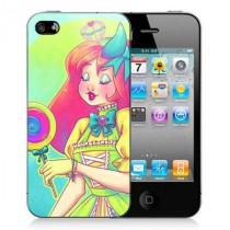 Coque iPhone 4 Rainbow Lolita