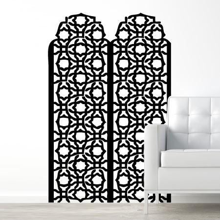 stickers paravent oriental stickers malin. Black Bedroom Furniture Sets. Home Design Ideas