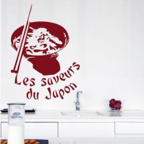 Stickers saveurs du japon