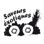 Stickers saveurs exotiques