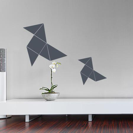stickers origami stickers malin. Black Bedroom Furniture Sets. Home Design Ideas