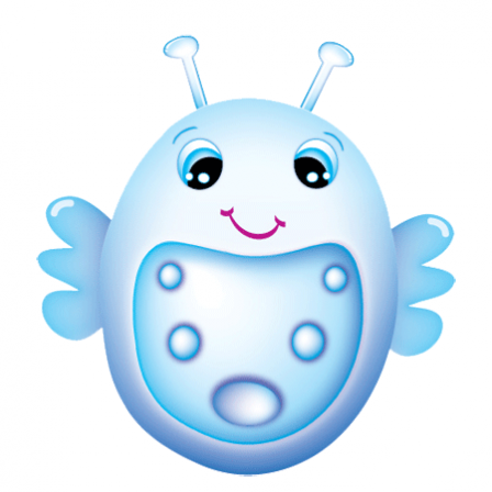 Stickers Bubble Bug