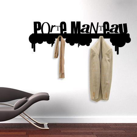 stickers porte manteau urbain stickers malin. Black Bedroom Furniture Sets. Home Design Ideas
