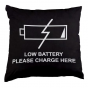 Coussin Low Battery