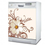 Magnet Beautifull Flower Lave Vaisselle