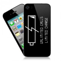 Stickers iPhone LOW BATTERY