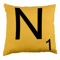 Coussin Lettre N