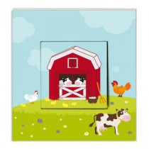 Stickers Interrupteur Animaux de la ferme