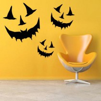 Stickers Halloween smile
