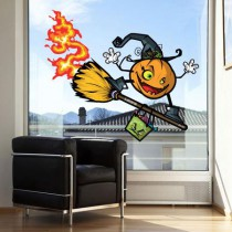 Stickers Citrouille Halloween